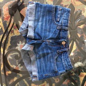 Size 6 girls kids shorts